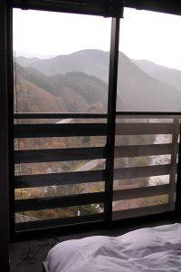 古湯温泉 杉乃屋の本館和洋室からの眺望