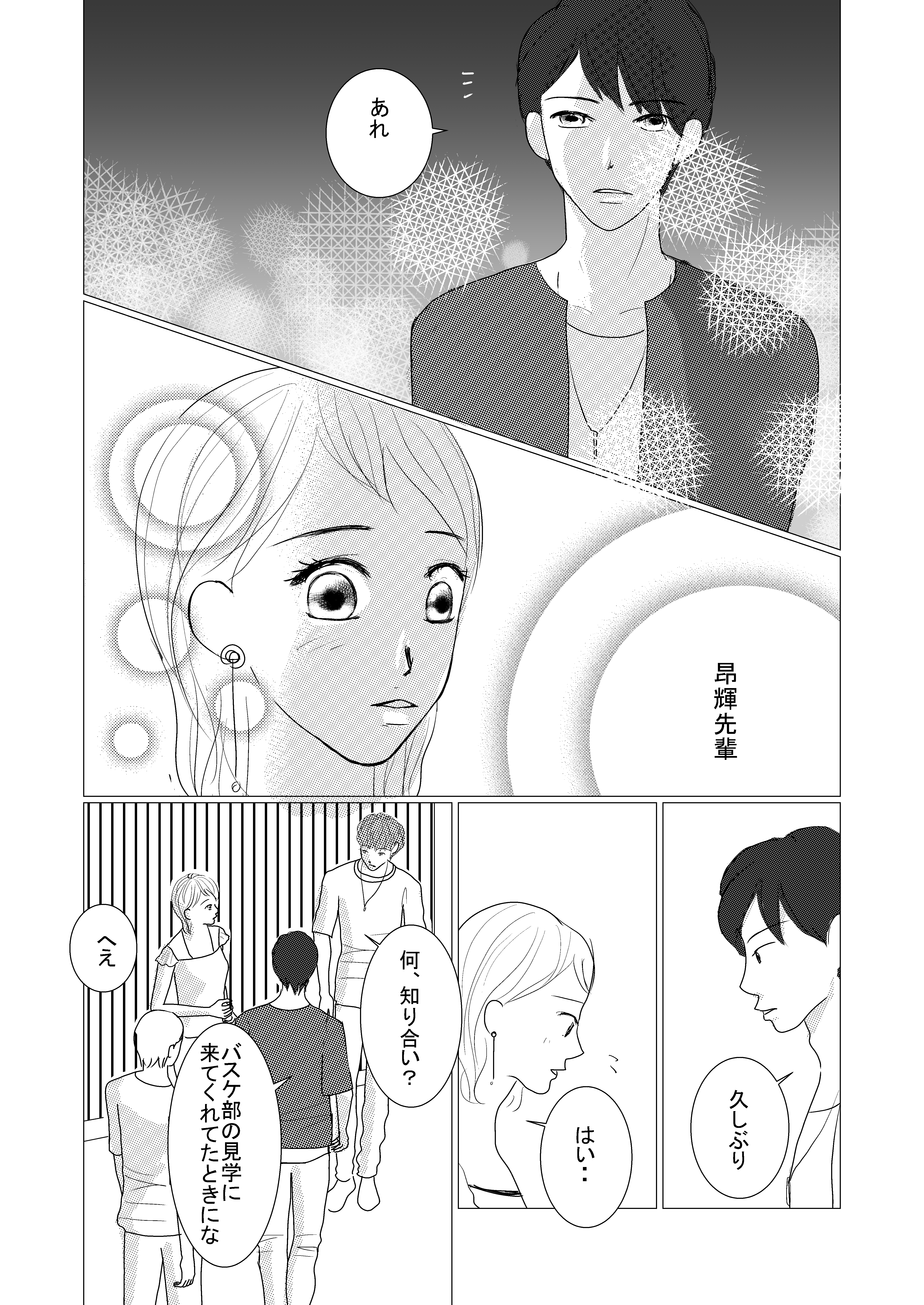 恋愛漫画/イケメン/大学生/社会人/大学生で初めて付き合う/初めての彼氏/shoujyo manga/米加夢/58ページ
