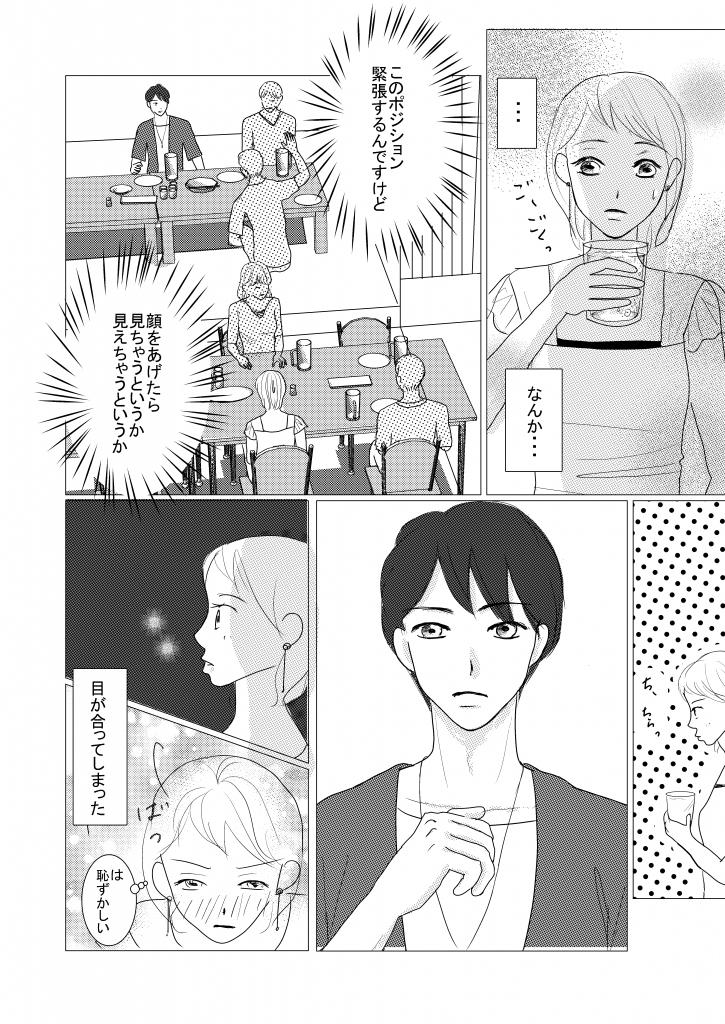恋愛漫画/イケメン/大学生/社会人/大学生で初めて付き合う/初めての彼氏/shoujyo manga/米加夢/60ページ