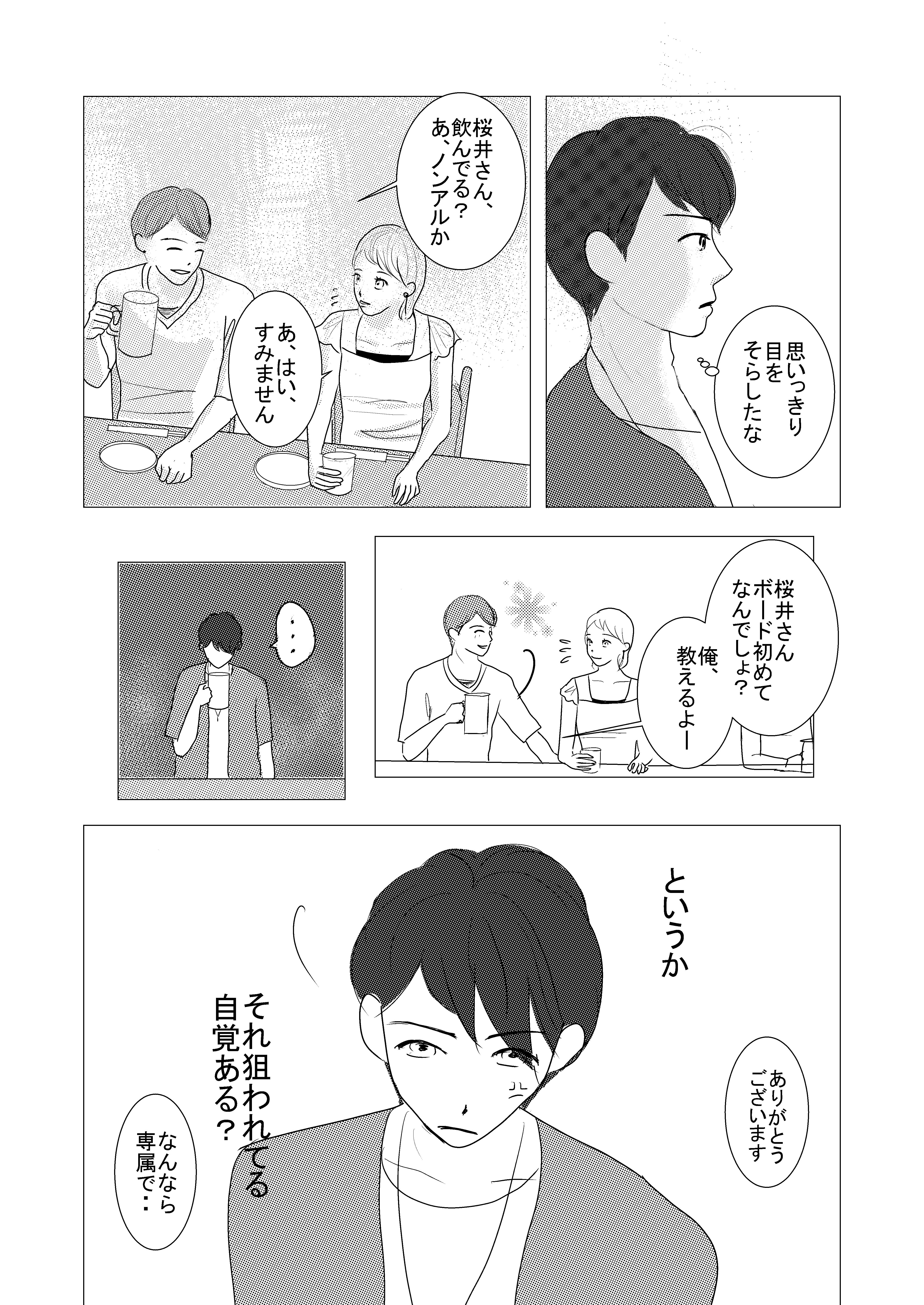 恋愛漫画/イケメン/大学生/社会人/大学生で初めて付き合う/初めての彼氏/shoujyo manga/米加夢/61ページ